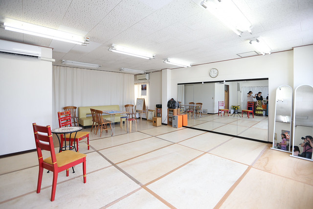 スタジオ・レッスン風景